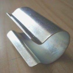 Clips acier galvanisé ronds par sachet de 10