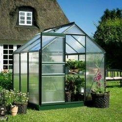 Serre polycarbonate Popular 66 - serre de jardin de 3.80 m²