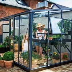 Serre en verre trempé Véranda 4.4 m²