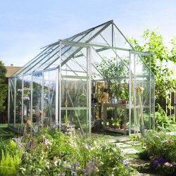 Serre de jardin Magnum 108 en verre trempé - 8.30 m²