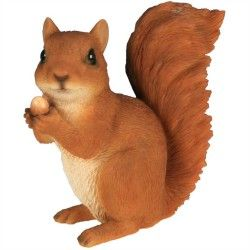 Écureuil noisette H 13 cm