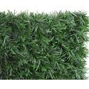 Haie végétale artificielle 140 brins LUX-2R - Thuyas