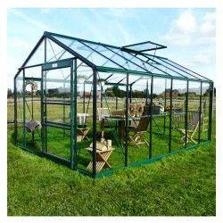 Serre de jardin en verre trempé Royal 36 - 13,69 m²