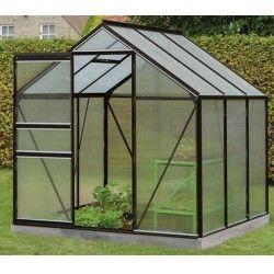 Serre de jardin en polycarbonate Daisy - 3,8m²