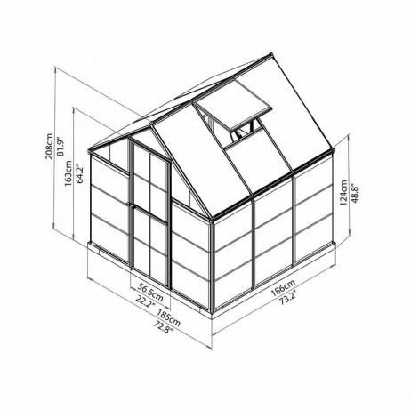 Hybrid 3.44 m²