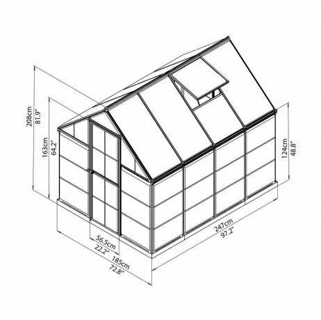 Hybrid 4,57 m²