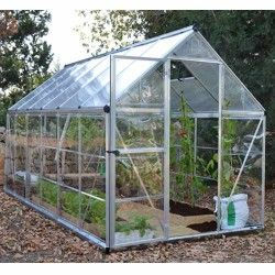 Serre de jardin en polycarbonate Hybrid 6,84 m²