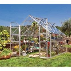 Serre de jardin en polycarbonate Octave 8,8 m²