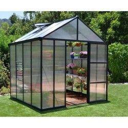 Serre de jardin en polycarbonate Glory 4,3 m²