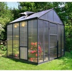Serre de jardin en polycarbonate Glory 6 m²