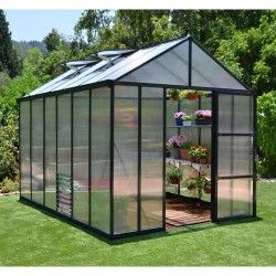Serre de jardin en polycarbonate Glory 8,9 m²