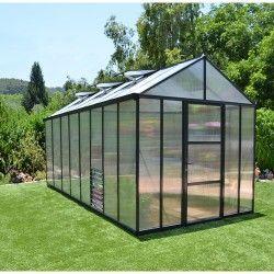 Serre de jardin en polycarbonate Glory 11,9 m²