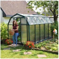 Serre de jardin en polycarbonate Rion Eco Grow 6,65 m²