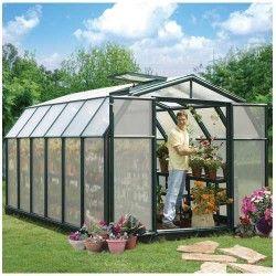 Serre de jardin en polycarbonate Rion Hobby Gardener 10,38 m²