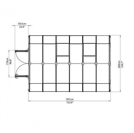 Rion Hobby Gardener 10,38 m²