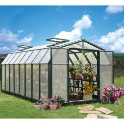 Serre de jardin en polycarbonate Rion Hobby Gardener 13,72 m²