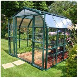 Serre de jardin en polycarbonate Rion Grand Gardener 7,04 m²