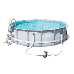 Kit piscine ronde Power Steel Frame