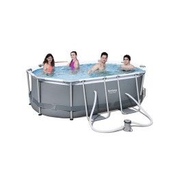 Kit piscine ovale Power Steel Frame