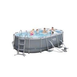 Kit piscine ovale Power Steel Frame II