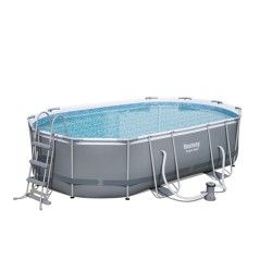 Kit piscine ovale Power Steel Frame III