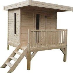 Maison en bois enfants sur pilotis - Léa