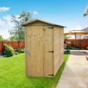 Abri de rangement 1,6 m² - toit feutre