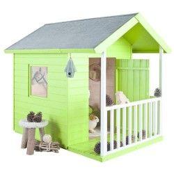 Maisonnette enfant bois Kangourou