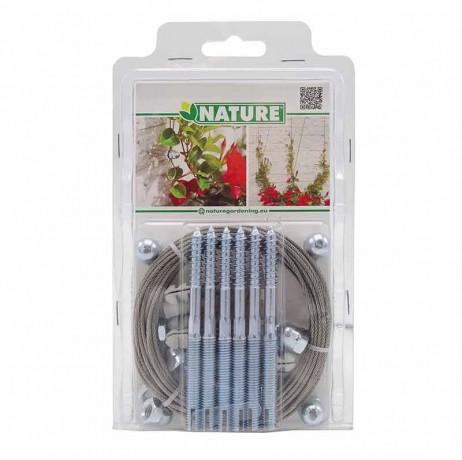 Kit treillis métallique pour plantes grimpantes