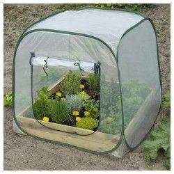 Serre de jardin pour carré potager