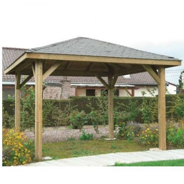 Kiosque de jardin 19,1 m²