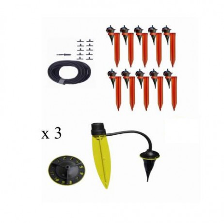 kit Duo MAX Iriso 1 kit 10 avec supports + 3 Pieds goutteurs