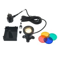 Spot de bassin AquaLight 30 LED 4 couleurs par lampe
