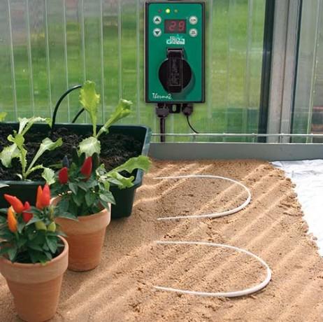 Câble chauffant pour culture au sol