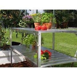 Table 2 plateaux pour serre de jardin