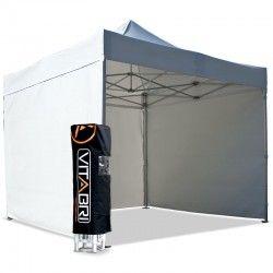 Tente pliante V3S5-Pro PVC 3x3m blanche Vitabri