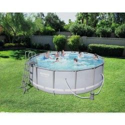 Kit Piscine ronde Power Steel Frame Pools