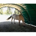 abri chevaux tunnel
