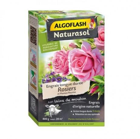 Engrais rosier et plantes fleuries