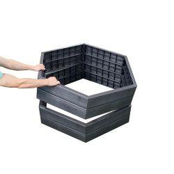 Kit 2 carrés potager ERGO + 2 sets d'extension