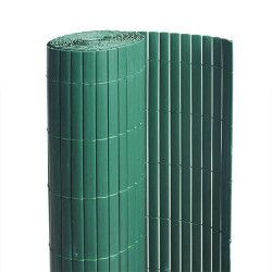 Canisse PVC vert - 90% d'occultation