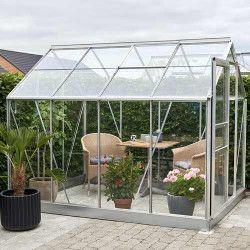 Serre de jardin Popular 86 - verre horticole 5 m²