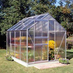 Serre polycarbonate Popular 86 - serre de jardin de 5 m²