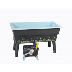 Kit jardinière Calipso Mini Junior bleue