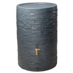 Kit récupérateur d'eau Arondo 250 L gris graphique