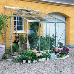 Serre en verre horticole Royal 608 - 4.60 m²
