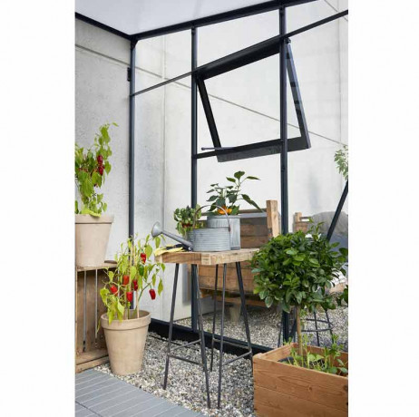 Serre en verre trempé Véranda 6.6 m² Juliana
