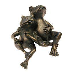Fontaine deux grenouilles