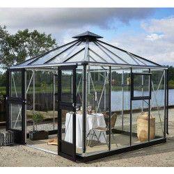 Serre en verre trempé Oasis 8.8 m²