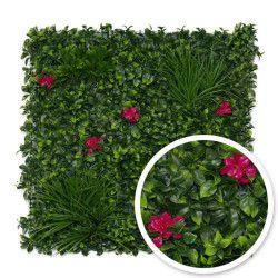 Mur végétal artificiel Amazone 1m x 1m